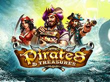 Заработок денег на слоте Pirates Treasures.