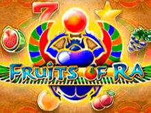 Fruits Of Ra – игровой онлайн автомат от производителей Playson